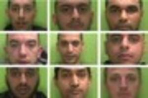 drugs gang who sold to students jailed for more than 70 years