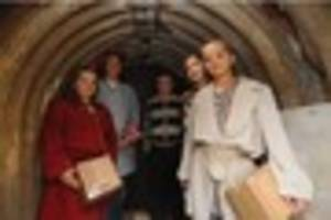 Step inside a bomb shelter in Plymouth city centre this weekend