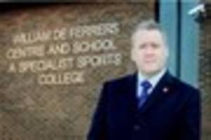 Former head of William De Ferrers School to stand trial in 2018...