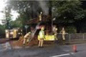 Whyteleafe church entrance set on fire during early hours of the...