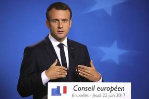 eu summit: consent, discord and debut of france's 'new boy'