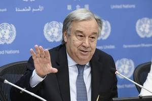 In Uganda, UN chief meets with South Sudanese refugees, urges world to show solidarity
