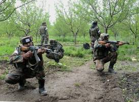 Indian forces kill three suspected militants in held Kashmir gunfight