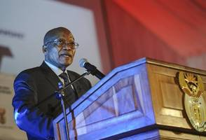 scandal-hit south africa leader says doing job 'very well'