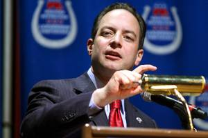 white house chief of staff reince priebus takes unusual interest in the rnc