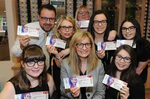 airdrie opticians focused on ensuring staff see elton john rock the excelsior this saturday