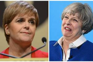 snp fury at post-brexit 'power grab' as theresa may and nicole sturgeon head for constitutional collision course