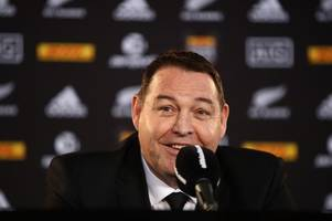 The Steve Hansen interview: I'm not a worried man, no matter what Gatland says, and I'm no bully either!