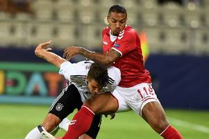 zohore gives cardiff city injury scare after clutching his knee on international duty with denmark