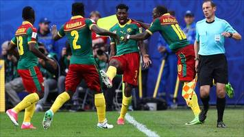 cameroon's hopes dented by australia draw