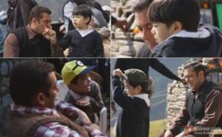 cuteness alert! here's tubelight kid matin rey tangu's audition & shooting video