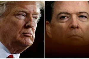 Trump Says That He Did Not Tape Conversations With Comey