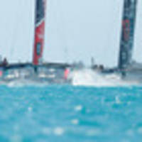Emirates Team New Zealand and Oracle boats both largely built in New Zealand