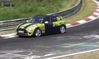 Is This The 300 HP MINI Clubman JCW? Prototype Gets Hooned on Nurburgring