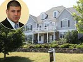 aaron hernandez's mansion remains empty