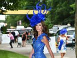ascot racegoers abandon their demure style for ladies day