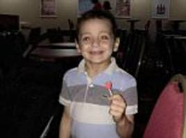 Bradley Lowery on holiday as single released