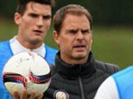 frank de boer 'very excited' to manage crystal palace