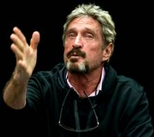 john mcafee's latest gambit is mining ethereum — the cryptocurrency that's up nearly 4000% this year