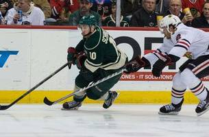 wild trade schroeder for minor-league forward salituro