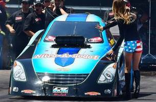 Jeff Diehl races the NHRA's Funny Car division as a throwback to days gone by