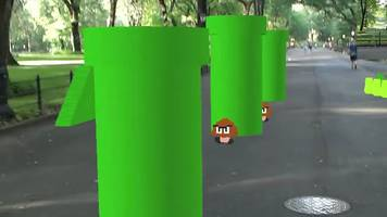 super mario fan makes augmented reality game