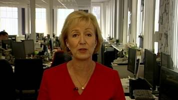 brexit: andrea leadsom says broadcasters need to be patriotic