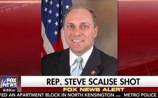 wasn't everyone supposed to 'tone down the rhetoric' after the scalise shooting?