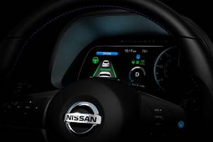 Nissan, eyeing fully self-driving cars, offers a glimpse of its new semi-autonomous Leaf