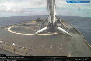 SpaceX successfully launches and lands a used rocket for the second time