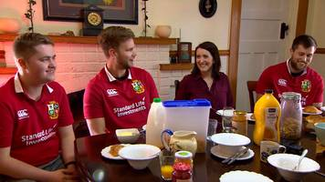 British and Irish Lions 2017: All Blacks supporters welcome Lions fans into their homes