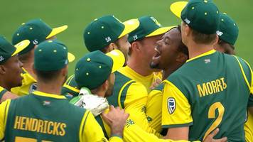 England v South Africa: The moment tourists won thrilling T20