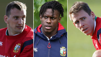 Itoje in, Jones out - your Lions XI