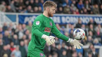 mark gillespie: walsall sign former carlisle goalkeeper on two-year deal