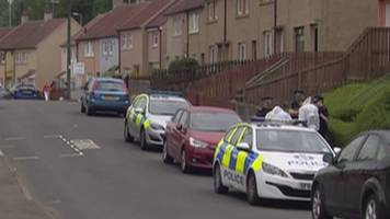 man in court over police hit-and-run in east kilbride
