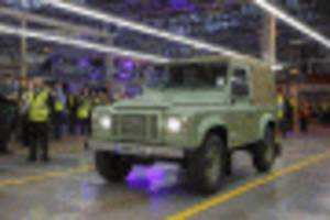 new land rover defender not far away, automaker says