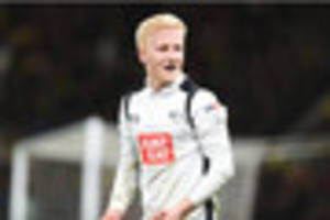 poll: how much is derby county midfielder will hughes worth?
