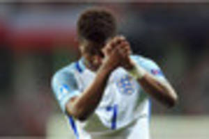 leicester city's demarai gray hopes to hold onto his england spot...