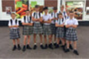 boys vow to keep wearing school skirts 'forever' - or until...