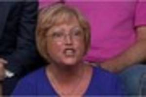 who is wendy from question time and why is she so angry about...