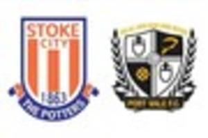 want to work at stoke city or port vale? there's jobs available...
