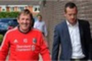 stoke's charlie adam reveals how he met liverpool boss in pyjamas...