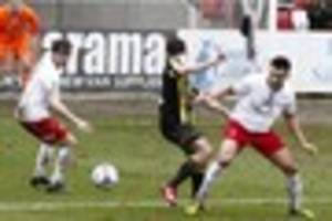 tamworth fc's  louis is raring to  go  after his  injury  hell