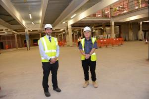 Look inside Primark as construction work on new £4.3 million store nears completion