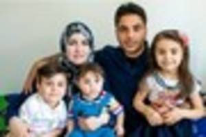 Syrian family forced to flee home find safety in Essex
