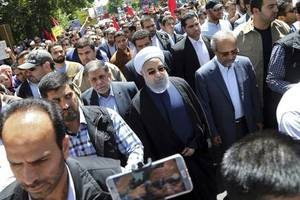 Iran Holds National Rallies Against Israel and Islamic State on Quds Day