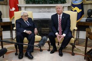 Is Henry Kissinger Behind President Trump's Policy In Syria And Much of the World?