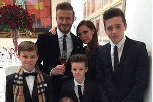 brooklyn beckham got told off by mum and dad over a photo in his new book