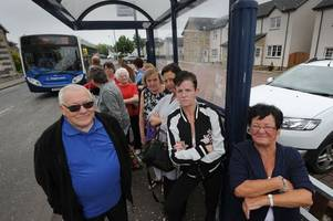 Dalrymple villagers furious over bus havoc after Stagecoach timetable changes cause chaos in people's lives