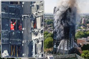 every 'complete' body has been removed from grenfell tower but cops say search will continue at 'very distressing scene'